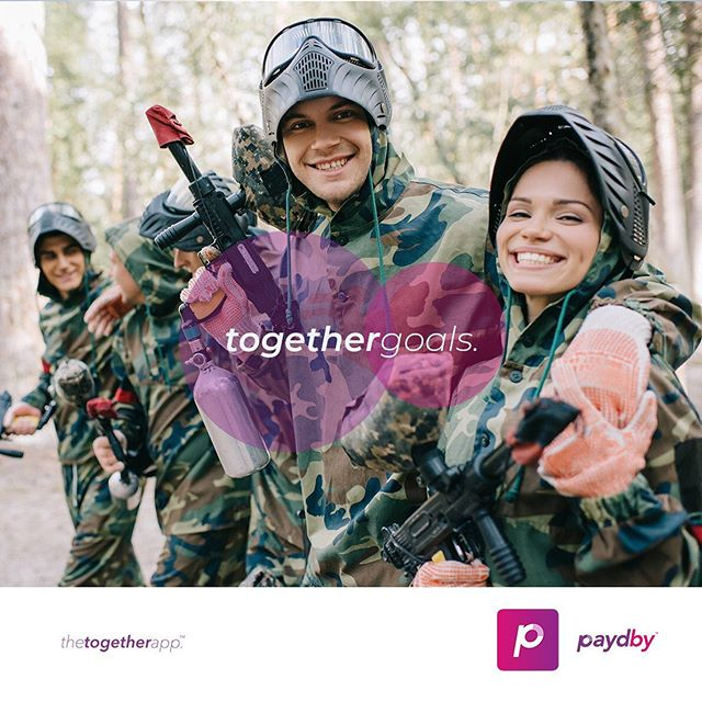 Doing life is always fun with others. Save and track each other's progress along the way using Paydby.  Download #thetogetherapp today!  #togethergoals #fun #paydby