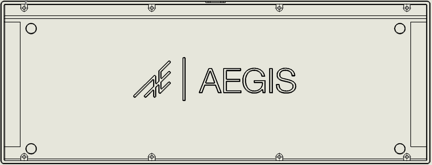 Engraving - The Aegis' engraving will look like this in the group buy production run.
