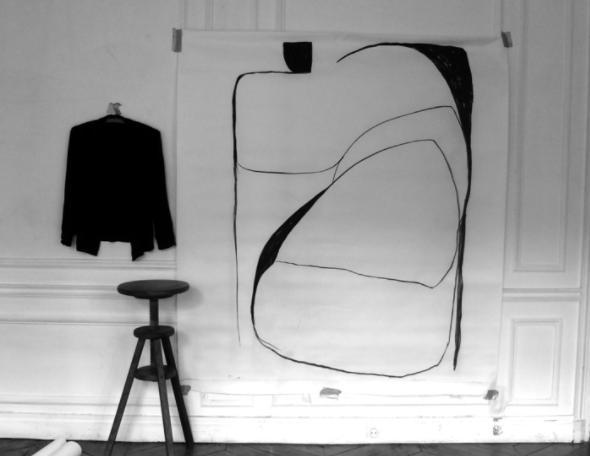 Artwork on paper by Caroline Denervaud