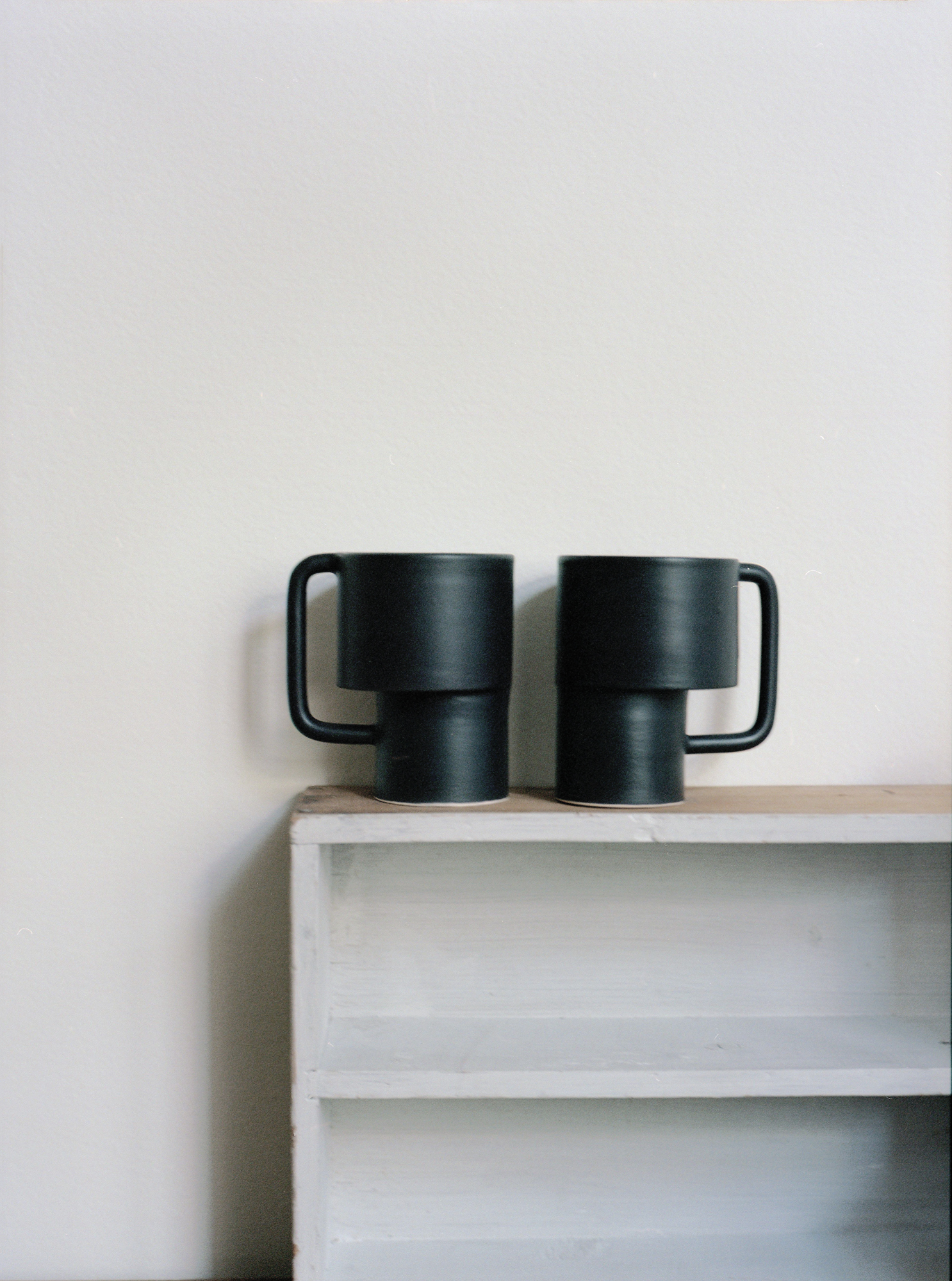 Ceramic cups by Alison Thirion