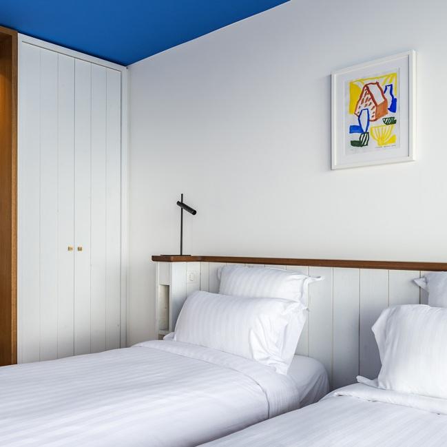 Hotel 5* Le Bailli de Suffren - Le Rayol Canadel, 2017Réalisation d'une série de 120 oeuvres pour la décoration de l'hôtel. Avec Alexandre Benjamin Navet