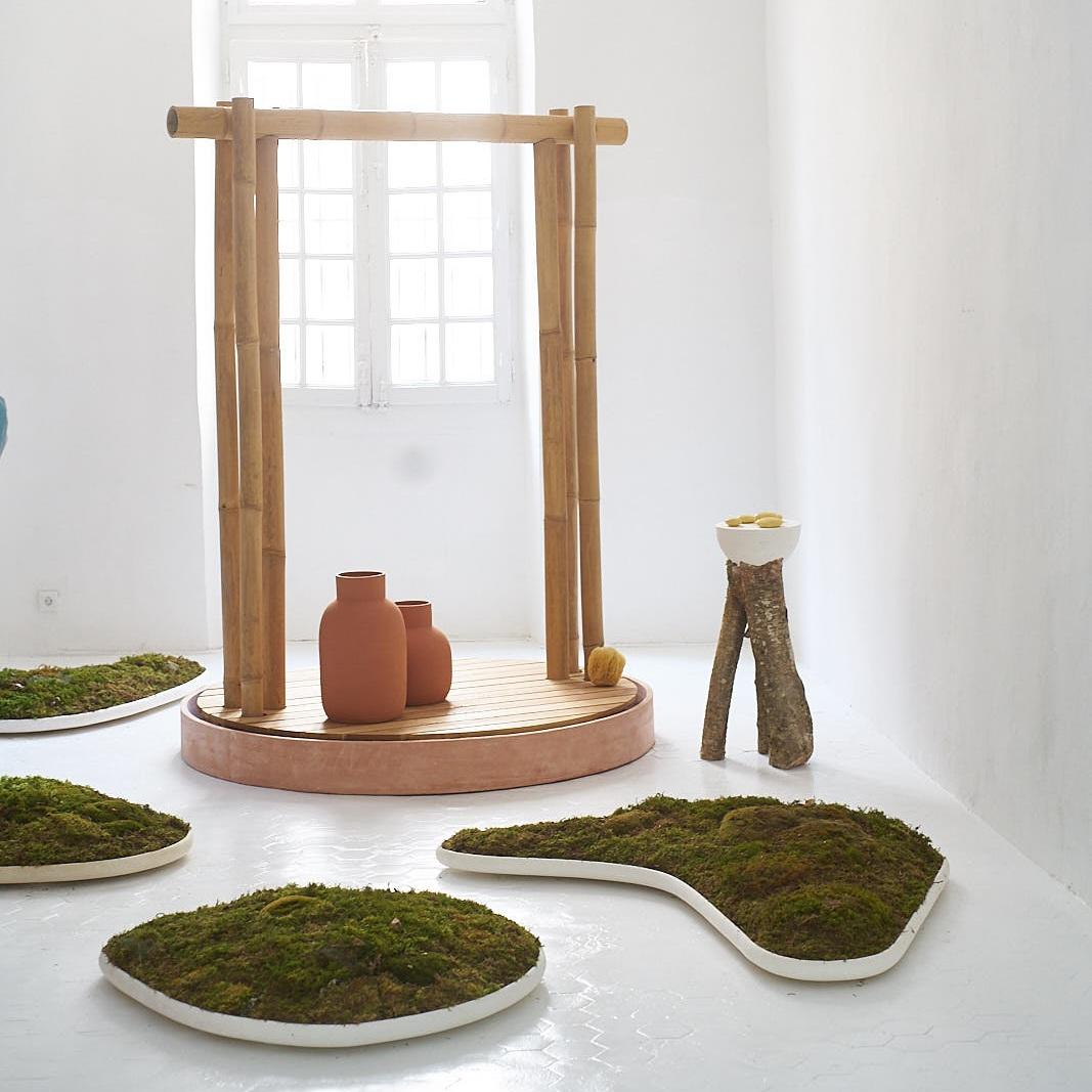 Villa Noailles - Hyères, 2019Réalisation d'une douche en circuit fermé avec le designer Samy Rio