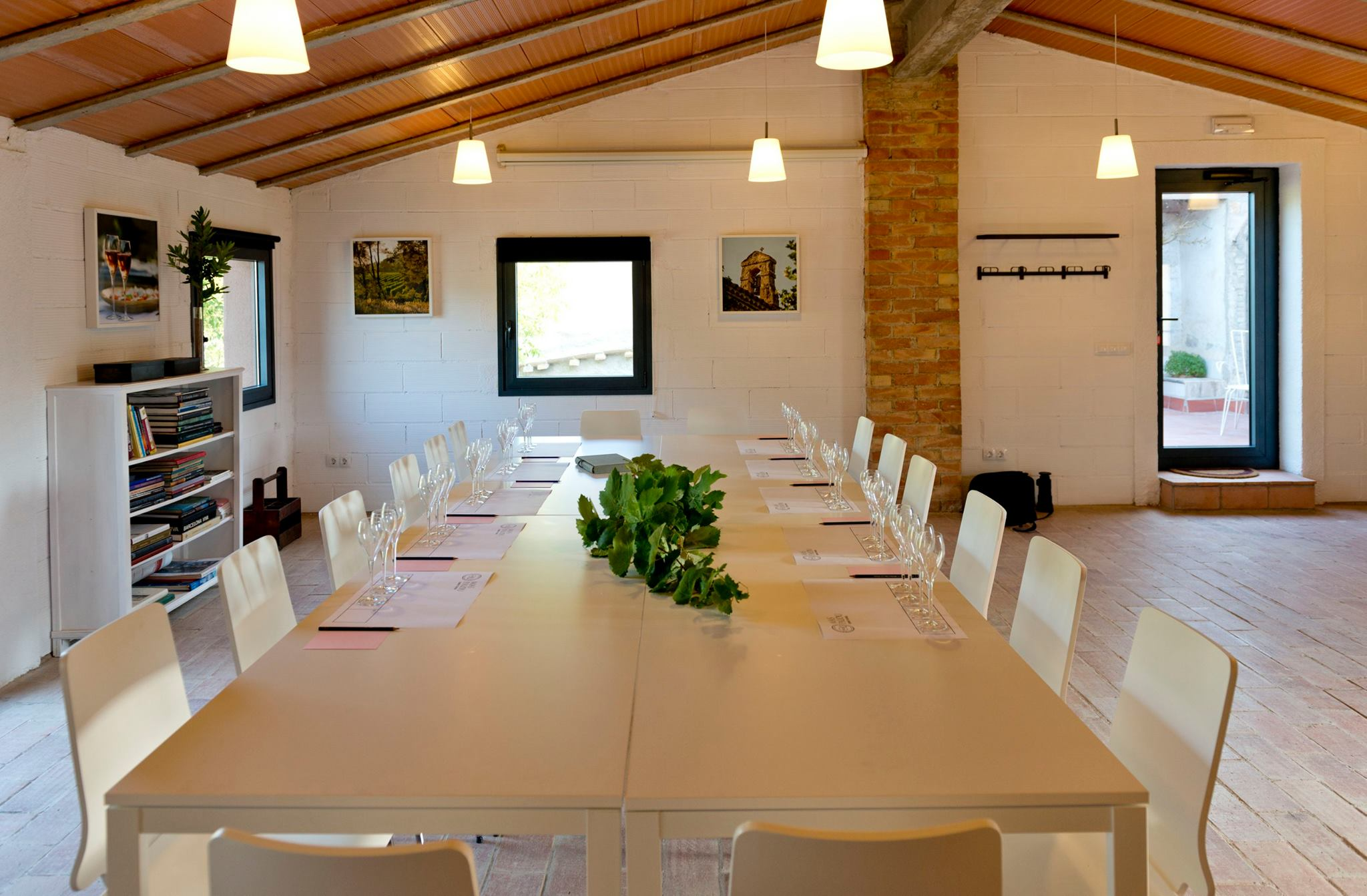 Large meeting table for conference or dinner