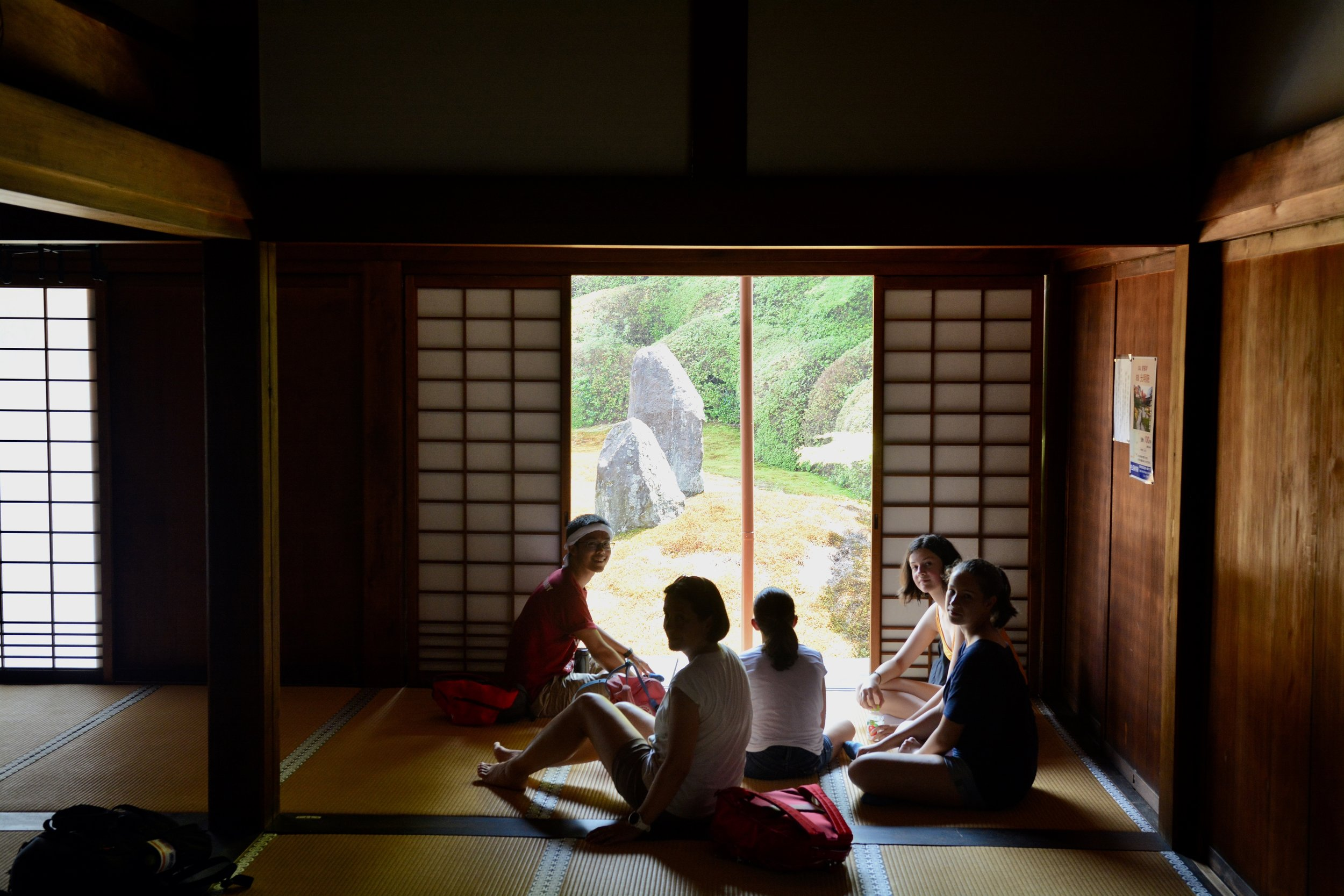 Summer in Komyo-in Temple