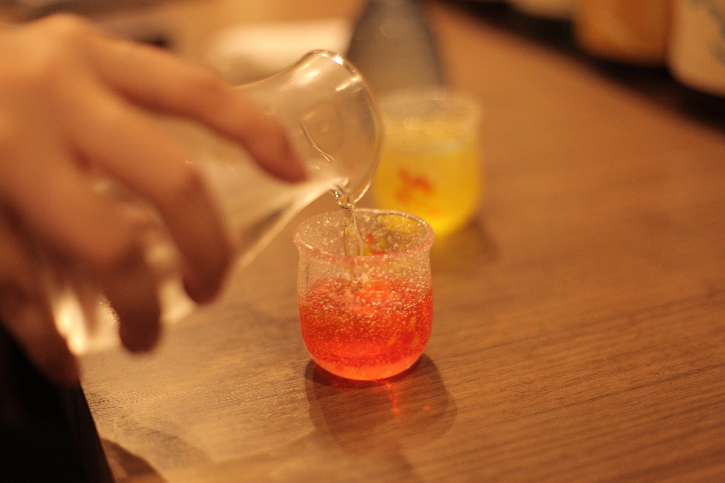 Go crazy with Fushimi sake at Aburacho
