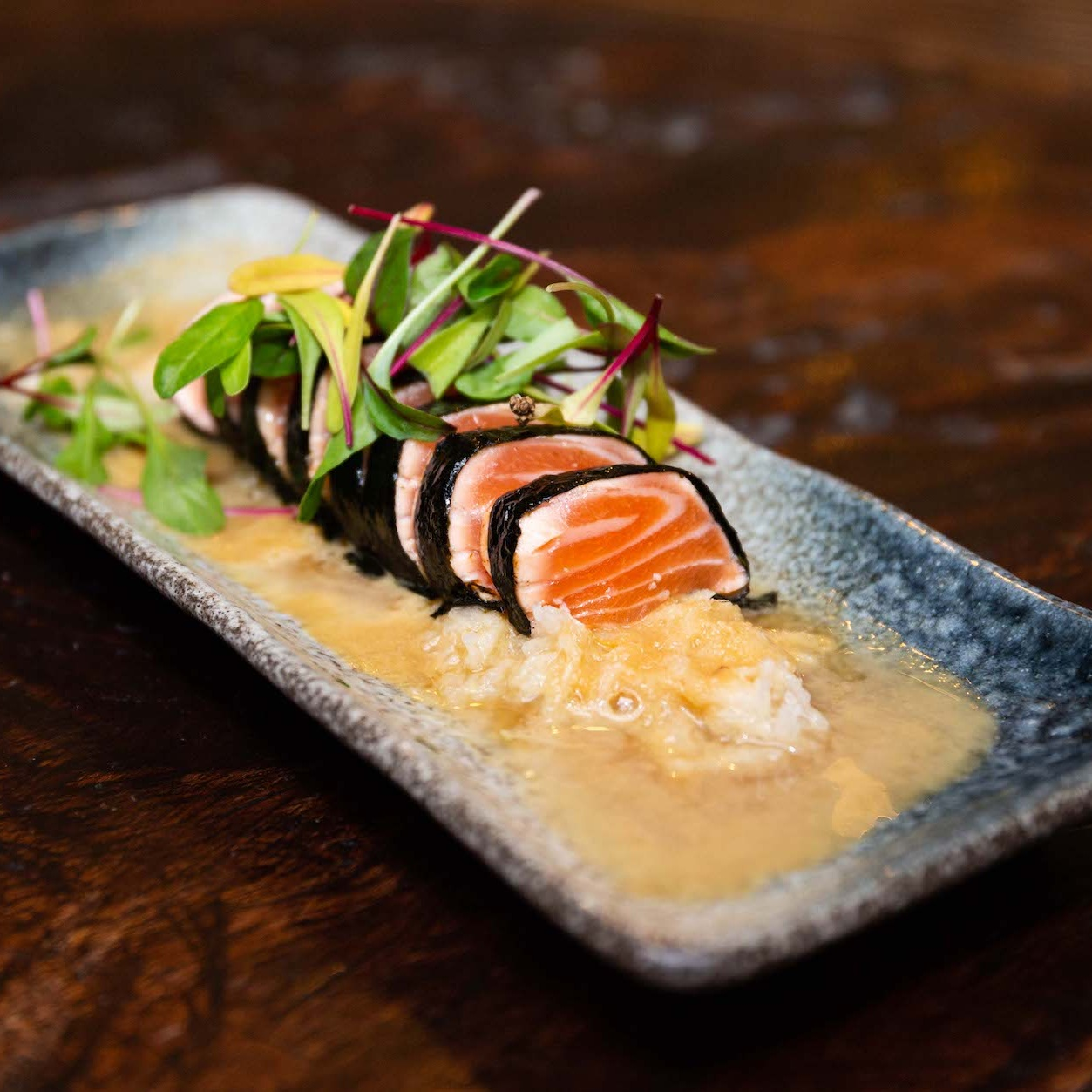 Salmon Nori Tataki