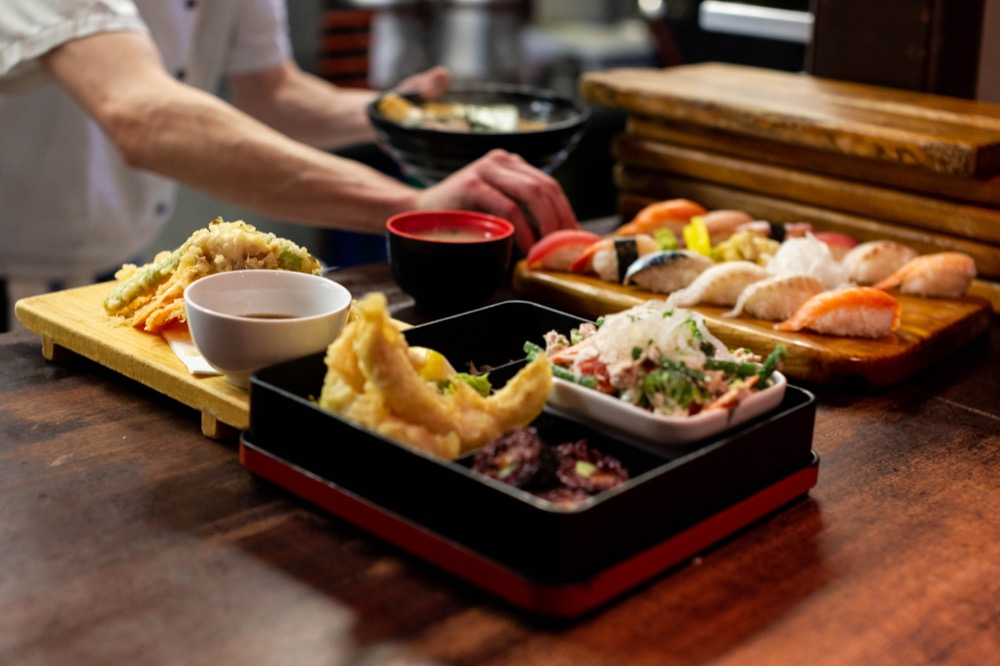 The classic lunch Bento Box