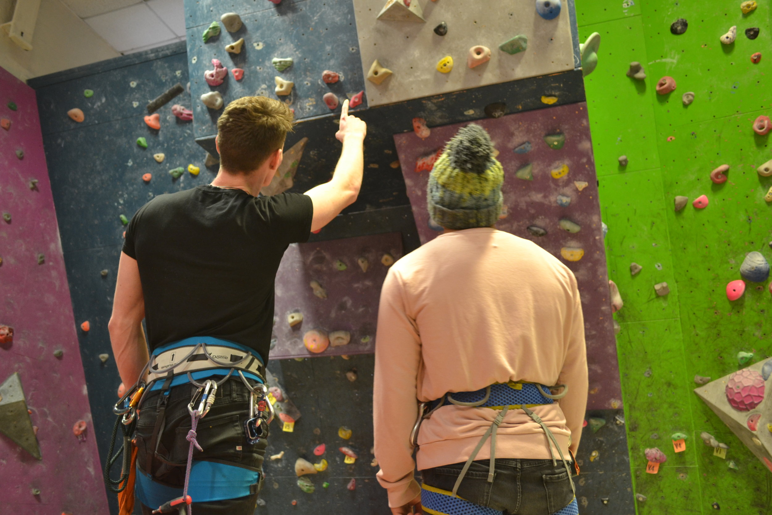 Adults Learn To Climb - MONDAYS AND FRIDAYSIntro to climbing - learn skills - improve skills18:30 - 19:30Booking required. £12.50 per head.Please download and fill out the Adult Registration Form.Check out our workshops
