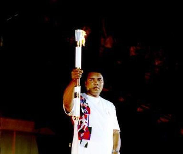 Seeing Muhammad Ali appear to light the flame at the Opening Ceremony still gives me goose bumps when I think about it