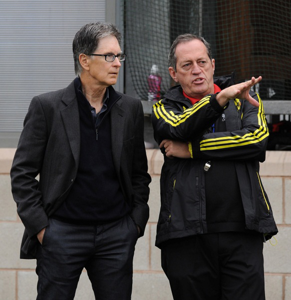 Showing John Henry around Melwood