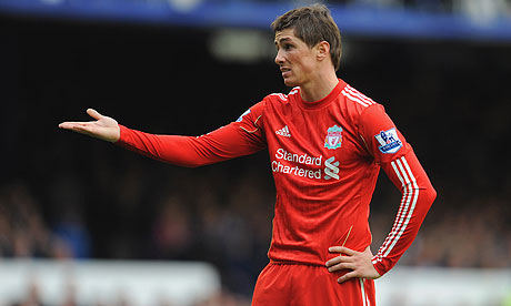 Fernando Torres before he left Liverpool