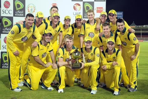 We won the series against Pakistan