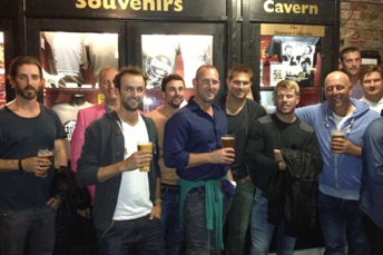 The team at the Cavern Club