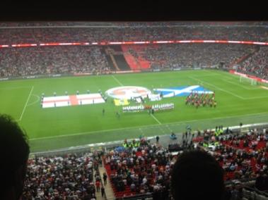 Eng v Scotland at Wembley