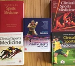 Five editions of Brukner & Khan's Clinical Sports Medicine