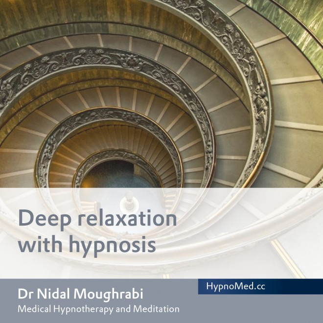 HypnoMed Dr. Nidal Moughrabi Deep relaxation with hypnosis (MP3)