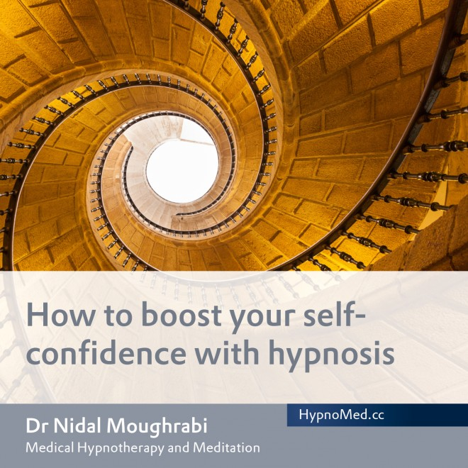 HypnoMed Dr. Nidal Moughrabi How to boost your self-confidence with hypnosis (MP3)