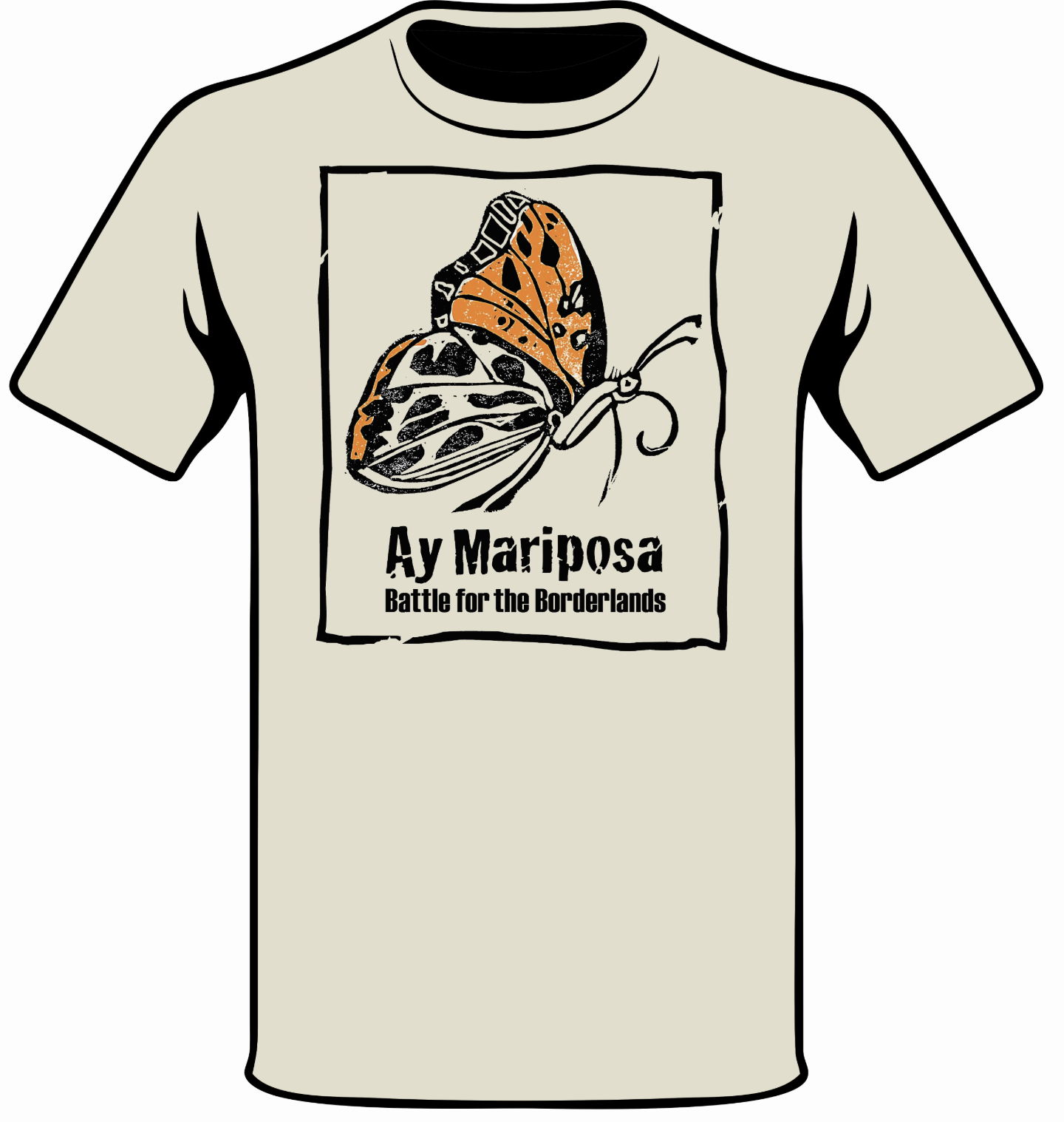T-SHIRT   Half of the proceeds will go to the National Butterfly Center.  $20-$25