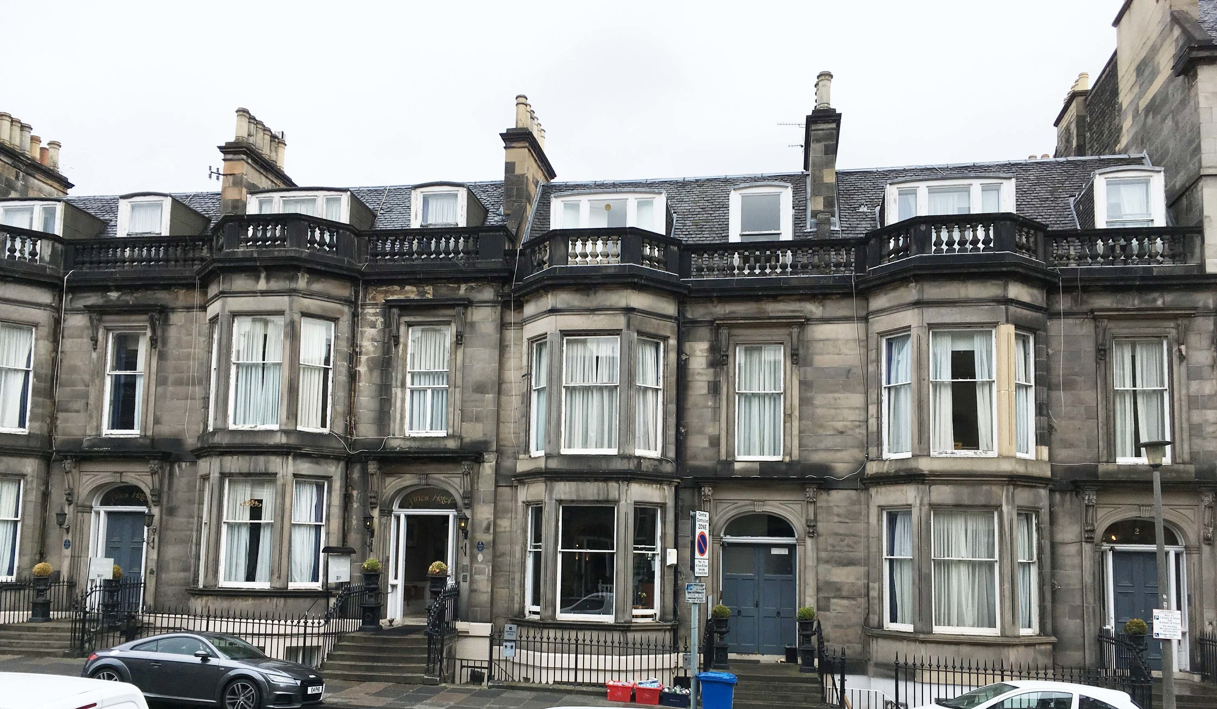 On the drawing board - Piries Hotel -  Blog / Sept 2018  The Splendid Hospitality Group wish to bring about necessary change and improvements to the existing Piries Hotel on 2-8 Coates Gardens, in the West End of Edinburgh.