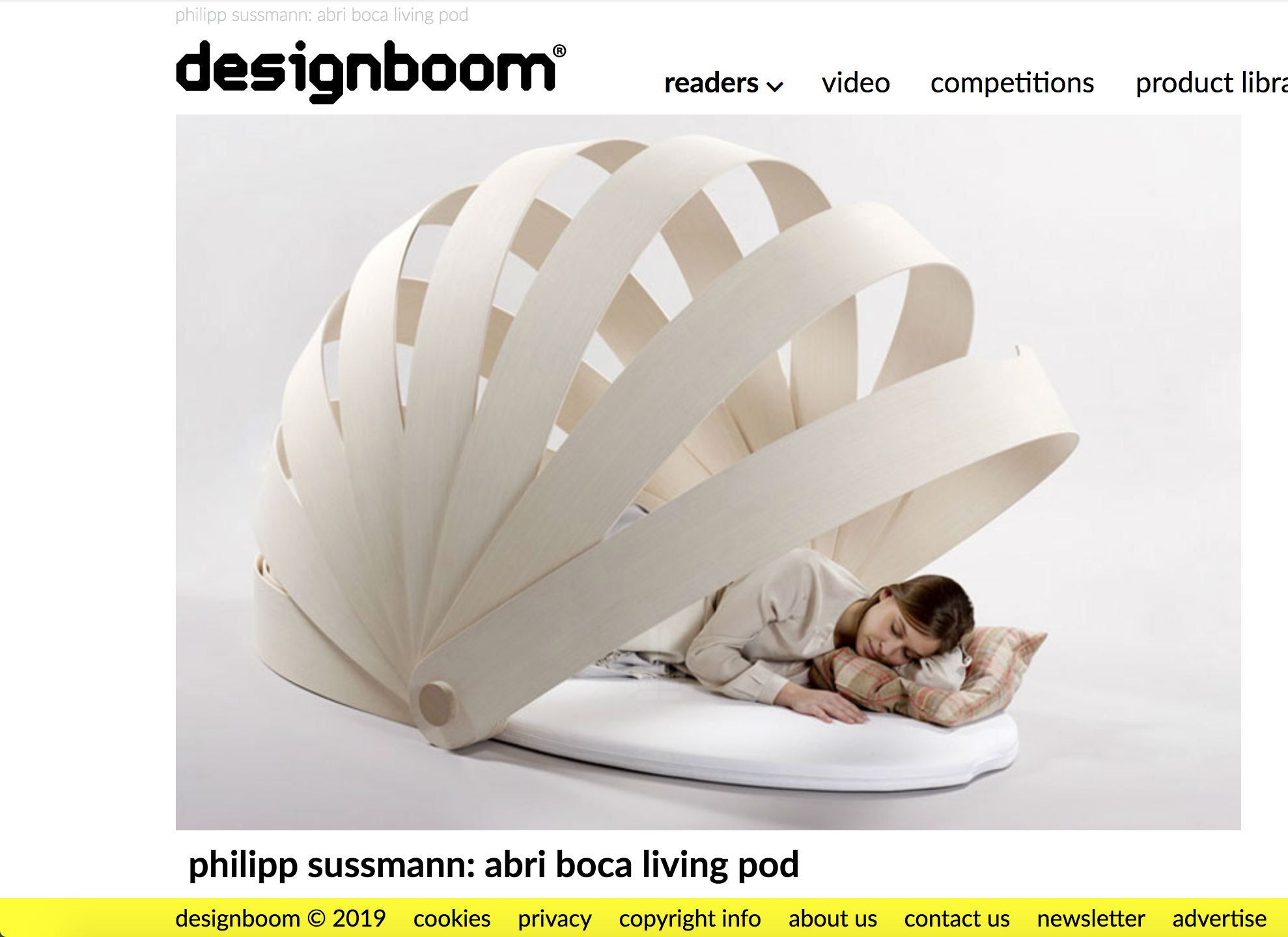 Designboom - March 2013