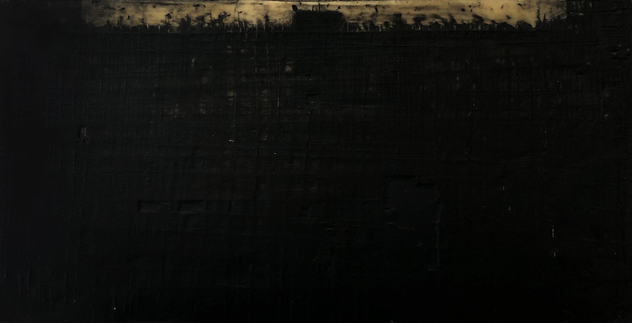 Virgilio Rospigliosi. Mare mosso (Archetipi Psichici Visivi). 1995©. Cm 10x20, acrilico e cera su alluminio.jpg