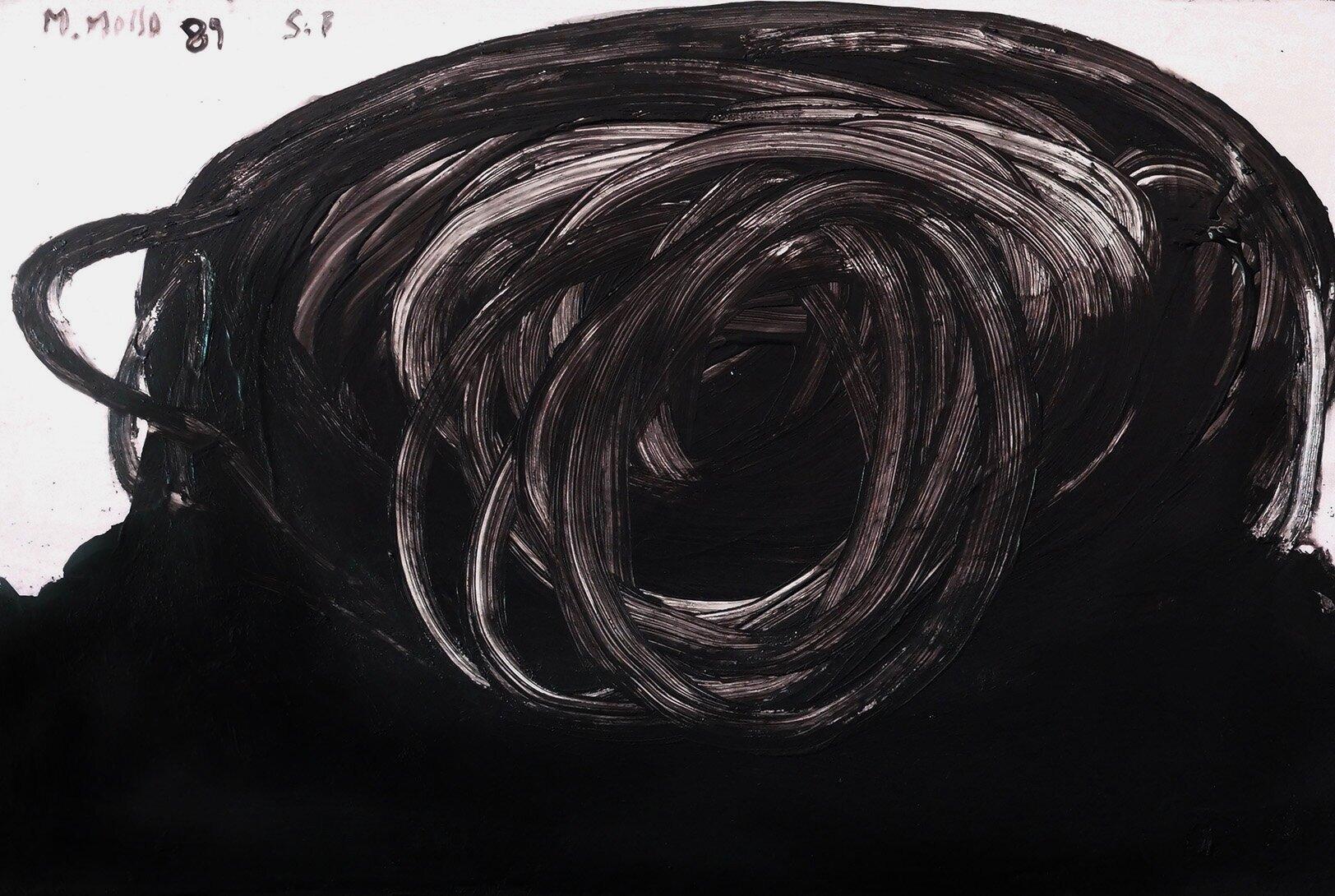 Virgilio Rospigliosi©Mare mosso d4. 1989. Cm 20x30, acrilico su tavola.jpg