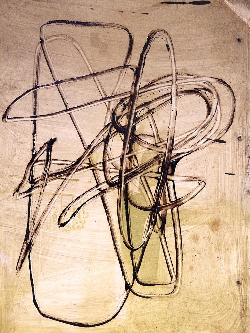 Virgilio Rospigliosi. Struttura mobile. 1988©. Cm 80x60, acrilico e smalto su alluminio.jpg