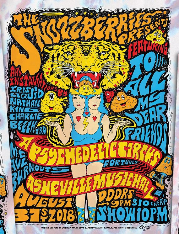 Psychedelic Circus - 8/31/18