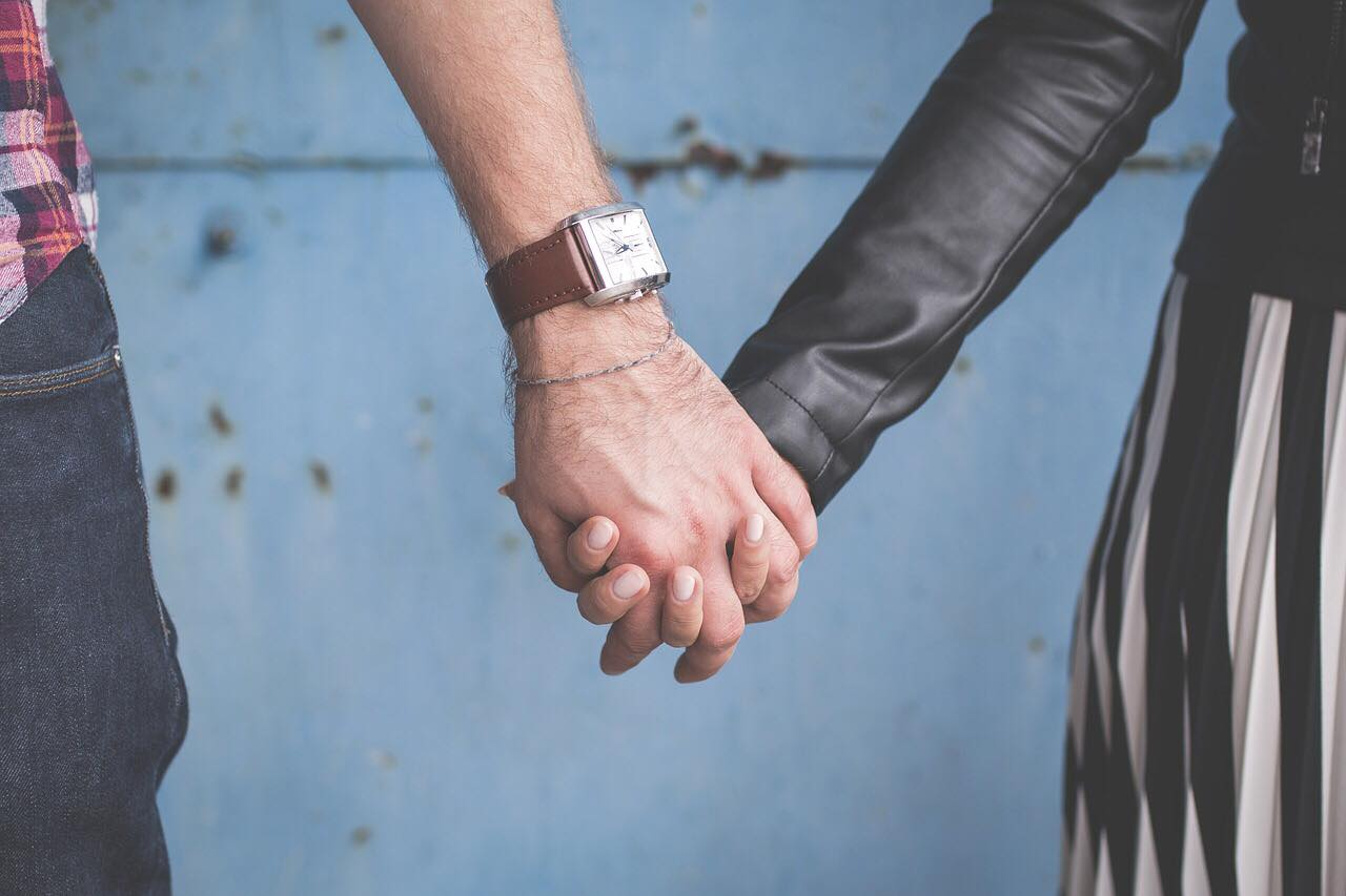 Holding hands is such a simple but effective way to show your love through Physical Touch.