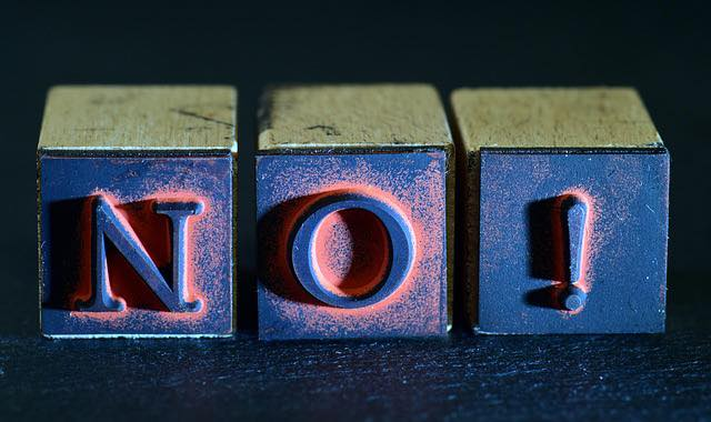 "Being told, ""no"" doesn't have to be scary. What possibilities does it open up for you to not see it as a negative?"