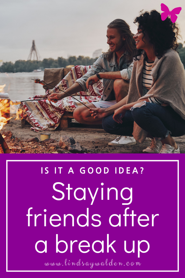 Are you wondering if it's possible to stay friends after a break up? It's possible but often not something that can happen right away. Here's some ways to remain friends after a break up and what I believe needs to happen first. #Breakups #Relationships #StayingFriends #FriendsWithYourEx #BeHonest #Communication #GiveYourselfTime #FindYourself