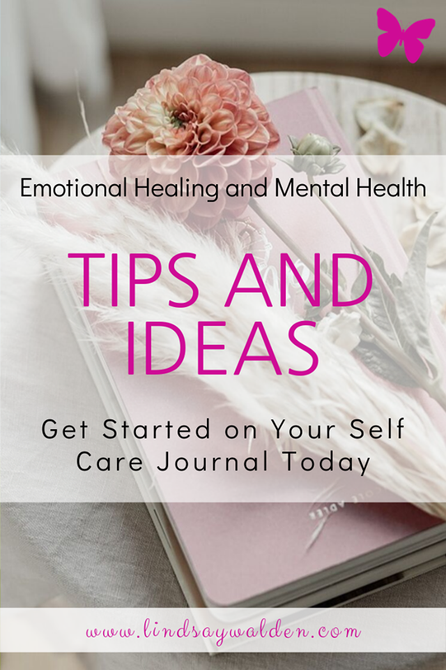 Are you thinking about getting started with self care journaling? Or maybe you have tried to journal but just couldn't stick with it. I have tips and ideas for you that will help you get started or started again and make self care journaling work for you! #Journaling #SelfCare #SelfCareJournal #MentalHealth #Therapy #EmotionalHealing