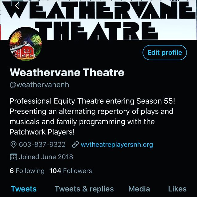 I hear @weathervanenh is announcing the first title of #season55! #followontwitter
