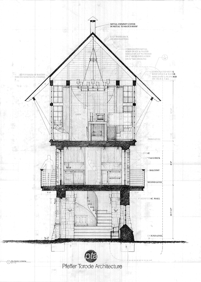 13006_Observation Tower_Hand drawing cross section.jpg