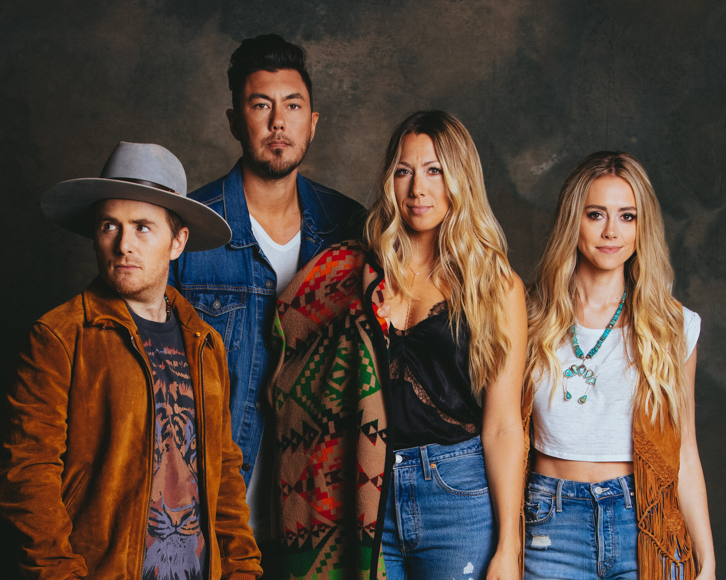COLBIE CAILLAT, JUSTIN YOUNG, NELLY JOY, & JASON REEVES