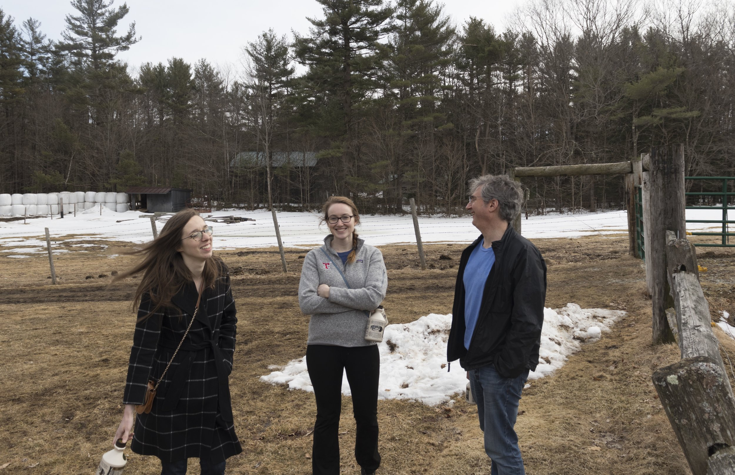 Maple Month - March is New Hampshire Maple Month. On Saturday, March 23, members of the Kahne lab braved the chilly temperatures and headed to New Hampshire for the annual Maple Weekend. They visited several different sugar houses, stopped at a few petting farms, and brought home authentic New Hampshire maple syrup. Yum!You can read more about the 2019 Maple Weekend here.