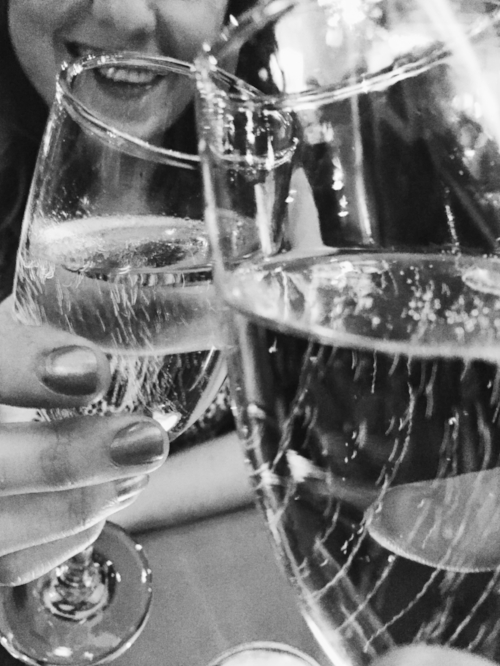 Pop the Champagne! - Setting goals and making your dreams come true sometimes need a little extra motivation.Put a bottle of Champagne in your fridge (or your favourite treat), and every time you open the door you'll see the reward waiting for you to cross that finish line.You can do it!E x