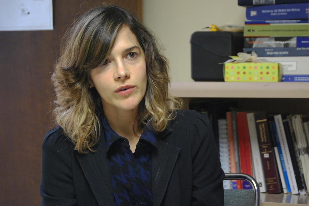 La profesora y abogada Iris Rosario Nieves. (Glorimar Velázquez / ONCE)