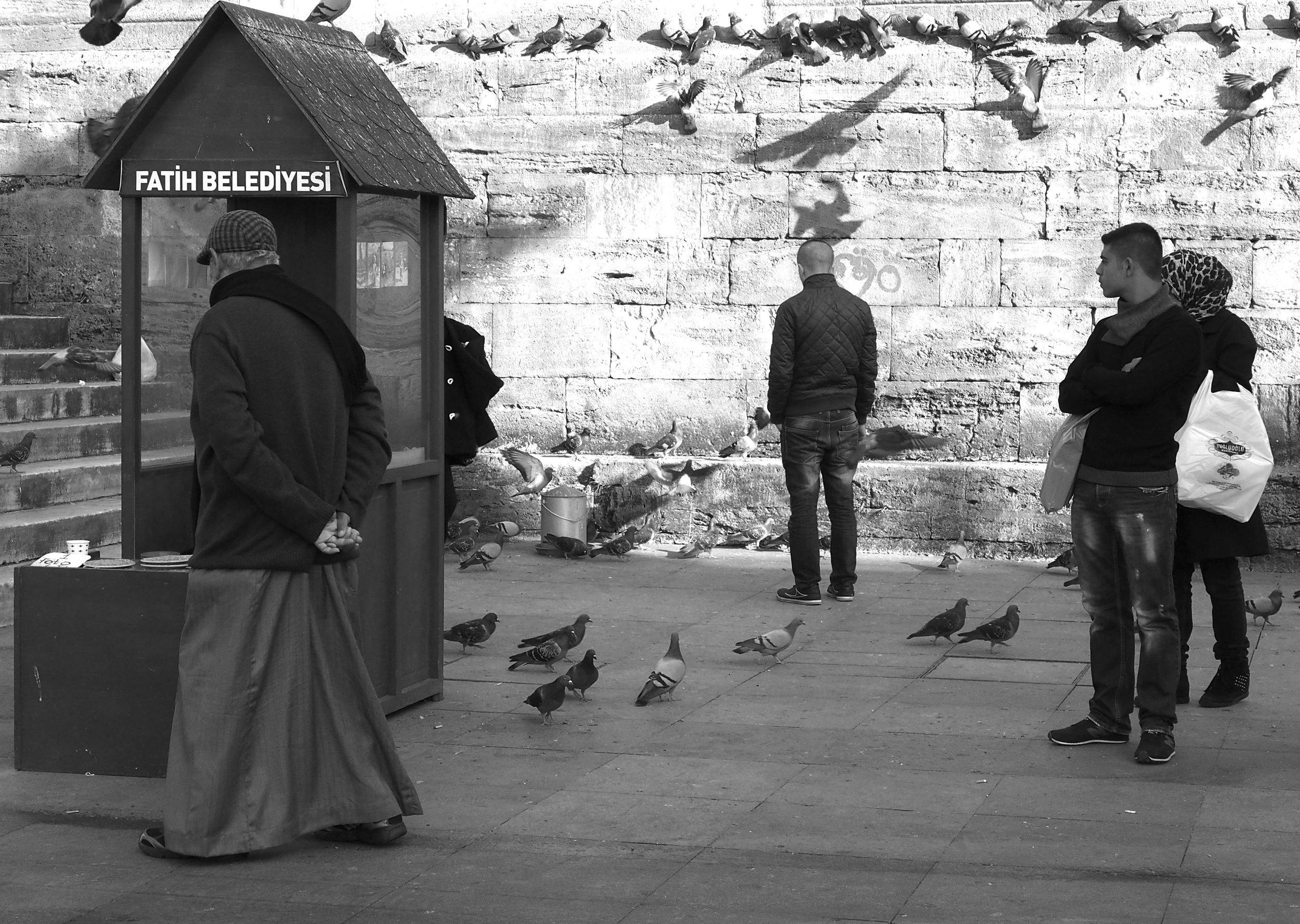 Birdman by Ayse Balkose