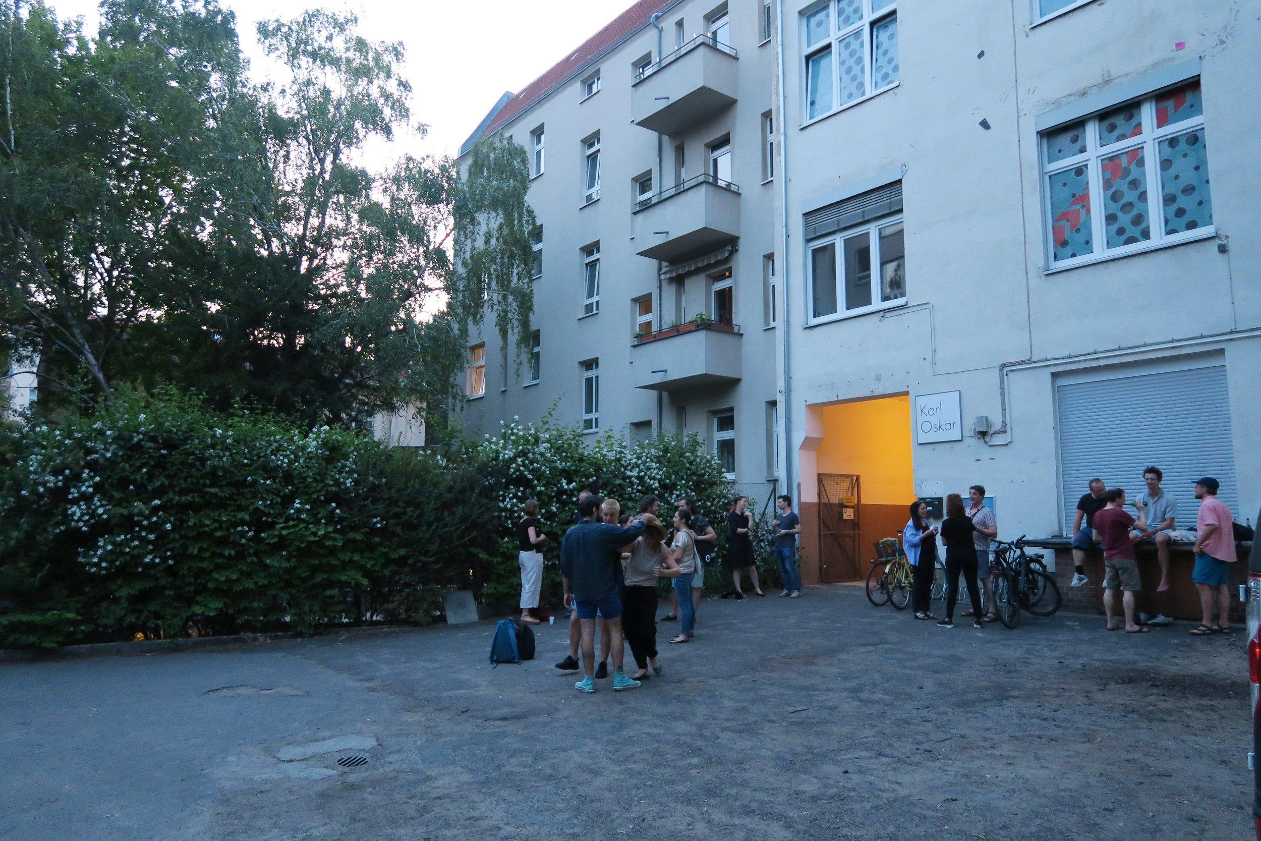 Karl Oskar Gallery in Tempelhof, Berlin.