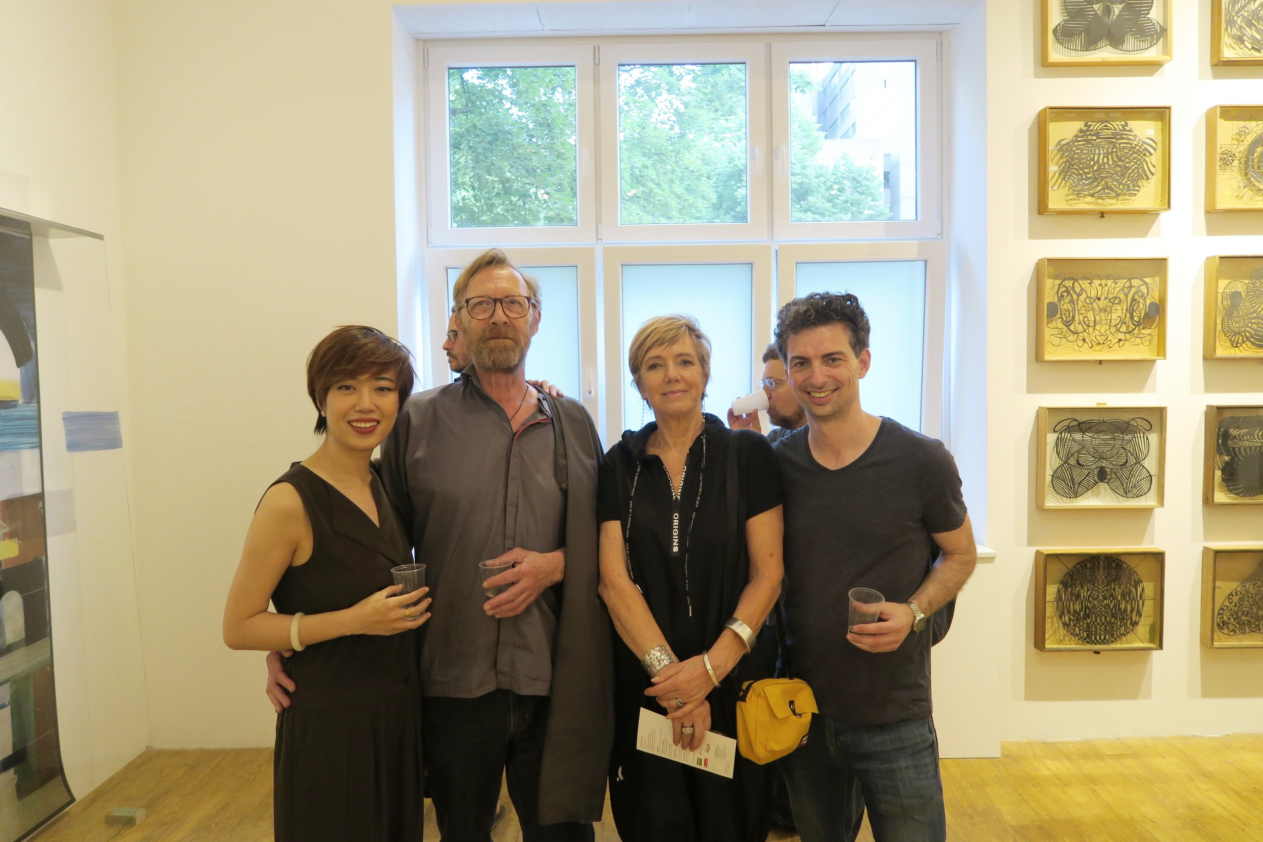 Myself, Poul Weile, Jacqueline Heer, Adrian Pocobelli (left to right)