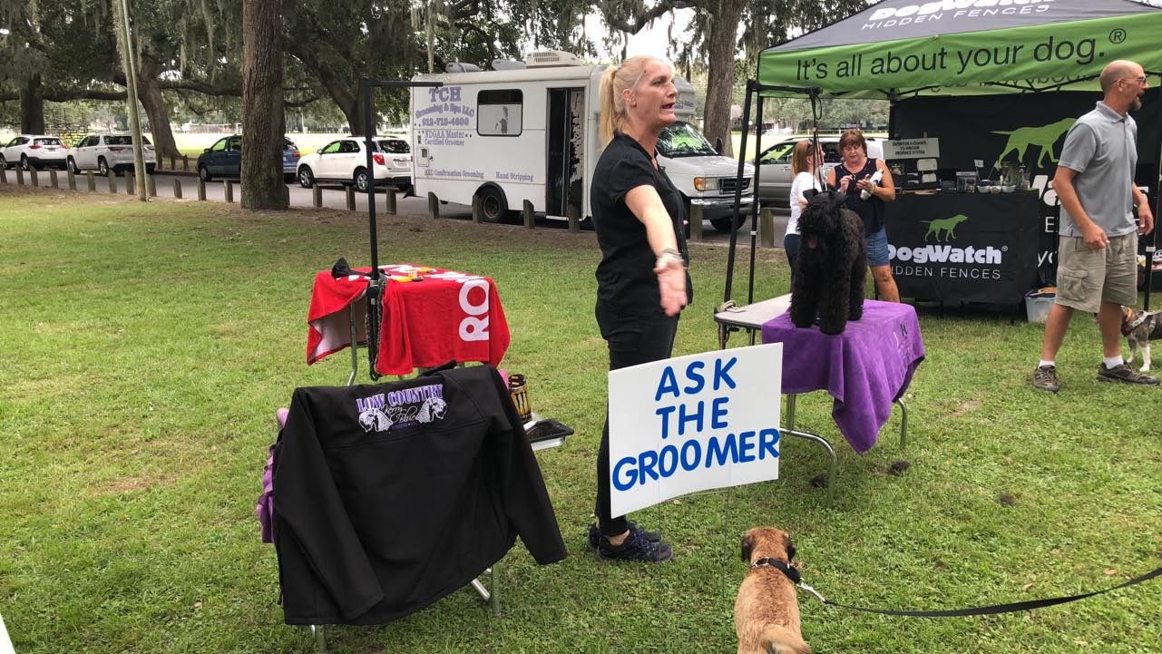 Tuesday ask the Groomer At the Savannah Kennel Club TCH Grooming Low Country Kennels.jpg