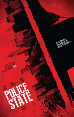 Police State   Dir. Kevin Arbouet Writer: Kevin Arbouet Producers: Edwin Mejia/Vlad Yudin