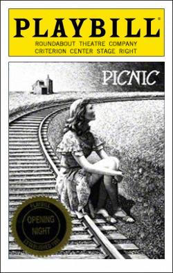 Picnic   Dir. Scott Ellis Producers: Roundabout Theatre Co., Todd Haimes, Gene Feist