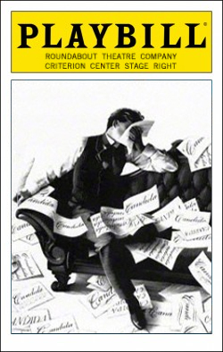 Candida   Dir. Gloria Muzio Producer: Roundabout Theatre Co.