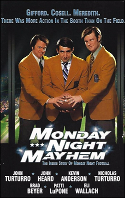 Monday Night Mayhem   Producer: Brian Gowan Creator(s): Ernest R. Dickerson Network: TNT Starring: John Turturro, John Heard