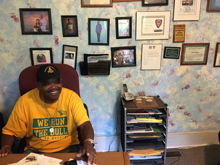 Dennis Garrett, Founder and Executive Director of Love and Respect / Photo by Debbie Vu