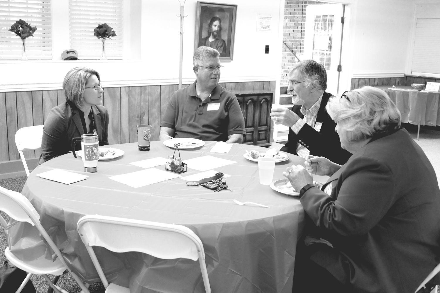 Business leaders and clergy discuss their understanding of the intersection of faith and business