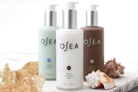 OSEA skincare  is an all natural and organic plant based skin care line using marine superfood products such as seaweed harvested from the clean coastal waters of Patagonia. On your next visit, try the  OSEA Ocean Cleanser  to cleanse, remove excess oil and maintain a hydrated, healthy complexion.  OSEA Hyaluronic Sea Serum  to smooth fine lines and wrinkles and replenish dry thirsty skin.  OSEA Brightening Serum , rich in botanicals, to visibly brighten your complexion, diminish the look of dark spots and gives you an instant glow.