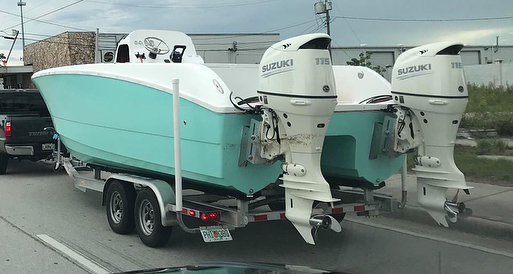 2019 NEW MODEL VIDEO - @twinveepowercats OceanCat 230 JP Center Console with twin Suzuki Outboards  90, 115, or 140 HP!  #BurasMarine #TwinVee #OceanCat #CenterConsole #Catamaran #Suzuki #SuzukiMarine #NewBoat #SeaTrial #Fishing #FishBoat @fishtalkmagazine @chesapeakebaymag @reelgirlsinc @annapolisboatshow @suzukioutboards @illumisea_aquatic_lights @themarinalife